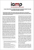 A call for action to strengthen health research capacity in low and middle income countries (2013)