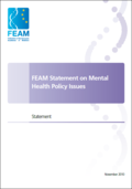 FEAM Statement on Mental Health Policy Issues (2010)