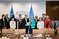 Handover of the report to UN Secretary General Ban Ki-moon. Picture: UN Photo/JC McIlwaine