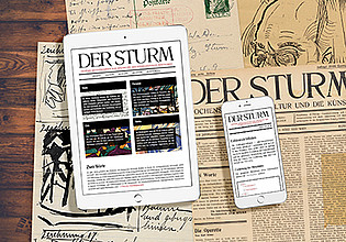 More 'DER STURM. Digitale Quellenedition zur Geschichte der internationalen Avantgarde'