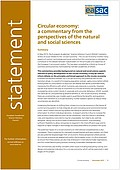 Circular economy: a commentary from the perspectives of the natural and social sciences (2015)
