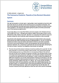 The Coronavirus Pandemic: Towards a Crisis-Resistant Education System