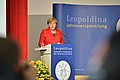Federal Chancellor Dr. Angela Merkel delivered a keynote speech at the official opening ceremonies. Image: Markus Scholz for the Leopoldina.