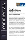 The regulation of genome-edited plants in the European Union (2020)