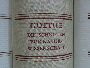 Leopoldina Edition: Goethe. Writings on Natural Science