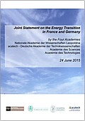 Joint Statement on the Energy Transition in France and Germany (2015)