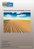 Opportunities for soil sustainability in Europe (2018)